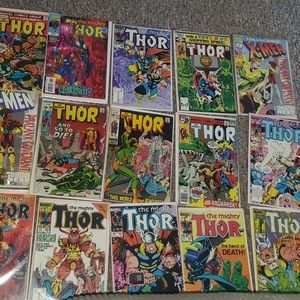 Thor Comic books. Collectibles. (might be vintage)